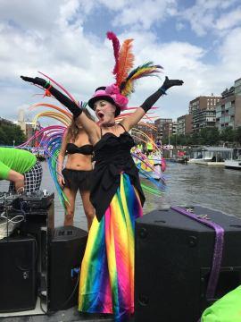 Botenparade, Koningin door Rocco Piers