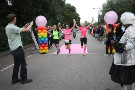 Pride Run, finish 1 door Arno Klos