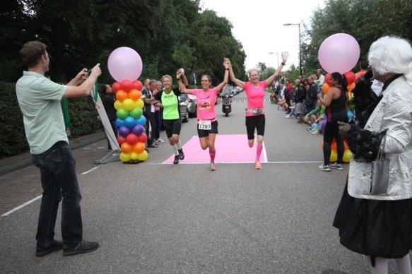 Pride Run, finish 1 door Arno Klos