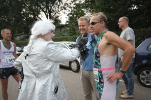 Pride Run, finish 2 door Arno Klos